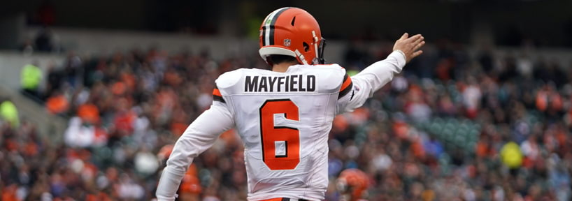 NFL Survivor Pool Advice Baker Mayfield