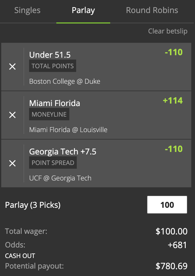 parlay betting system nfl combine