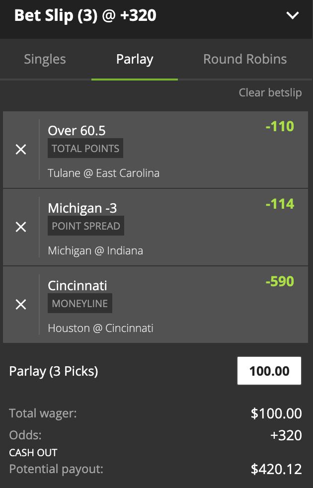Hedge betting football parlay betting spreadsheet tracker