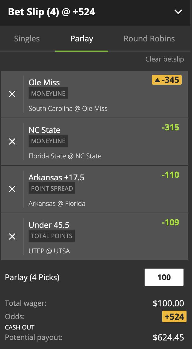 trapline betting line
